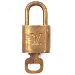 Lock Keepall Speedy Alma Brass and Key Set #315